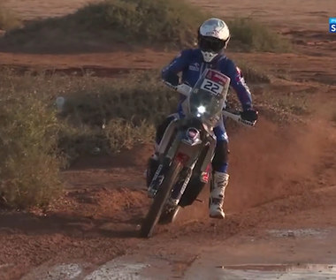 Rajd Dakar. Kronika Rajdu Dakar - podsumowanie 9. etapu. Wideo