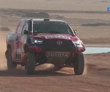 Rajd Dakar. Wypowiedzi Przygońskiego i Prokopa po 9. etapie Rajdu Dakar. Wideo
