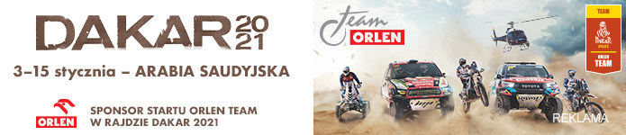 Rajd Dakar /ORLEN Team /materiały prasowe