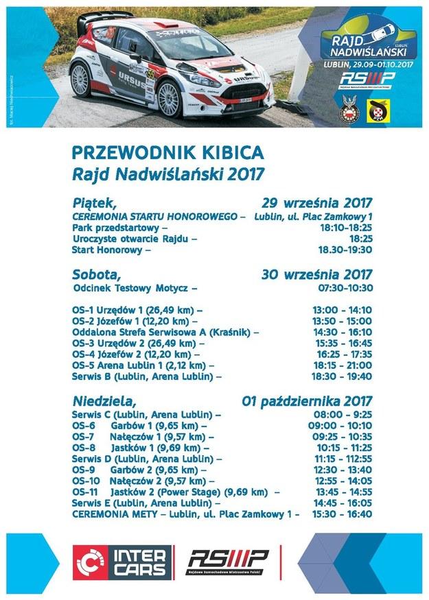 Rajd Nadwiślański /Materiały prasowe