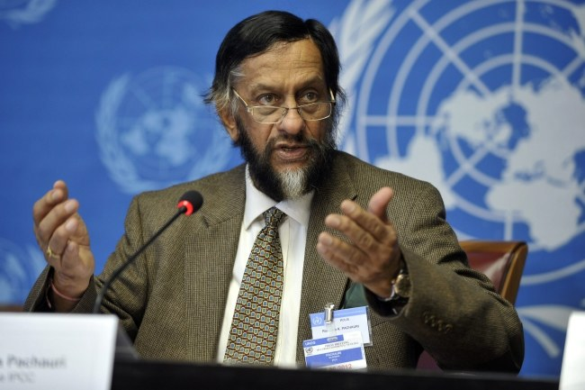 Rajendra Pachauri zaprzecza informacjom o molestowaniu /MARTIAL TREZZINI /PAP/EPA
