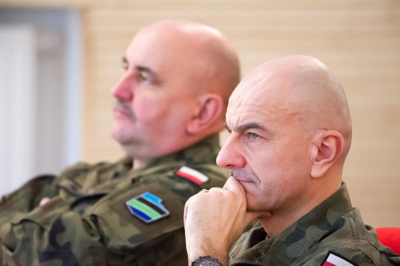 Rajmund Andrzejczak i Jarosław Mika /Wojciech Strozyk/REPORTER /Reporter