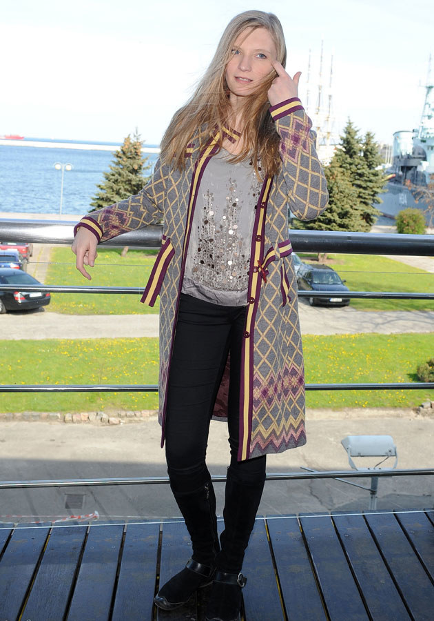 Rak to już przeszłość. Dziś Agata cieszy się życiem i odnosi spore sukcesy jako aktorka /Andras Szilagyi /MWMedia