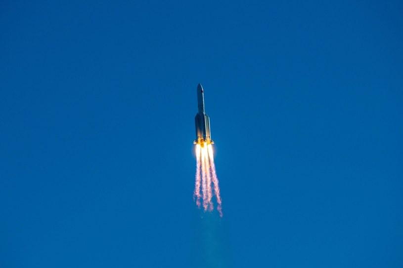Rakieta Długi Marsz 5B /Luo Yunfei/China News Service /Getty Images
