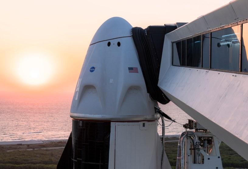 Rakieta Falcon 9 i kapsuła Dragon są gotowe do startu - poinformowało 22 kwietnia wieczorem polskiego czasu SpaceX /materiały prasowe