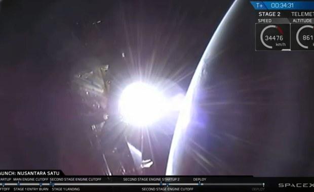 Rakieta Falcon 9 z izraelskim lądownikiem księżycowym wystartowała