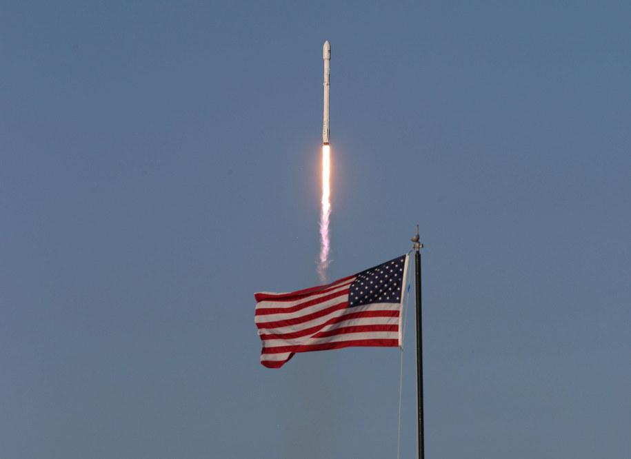 Rakieta Falcon-9 ze statkiem towarowym Dragon wystartowała w poniedziałek z przylądka Canaveral. Zdj. ilustracyjne /Orlando Sentinel/TNS/ABACA /PAP/EPA