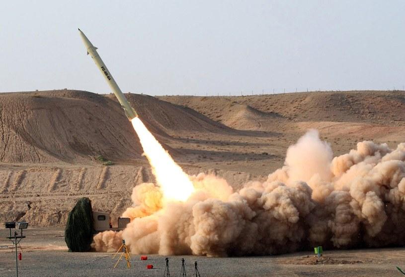 Rakieta Fateh 110, zdjęcie ilustracyjne /AFP