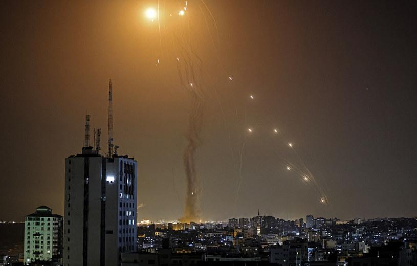 Rakiety nad Izraelem; zdj. ilustracyjne /MAHMUD HAMS /AFP