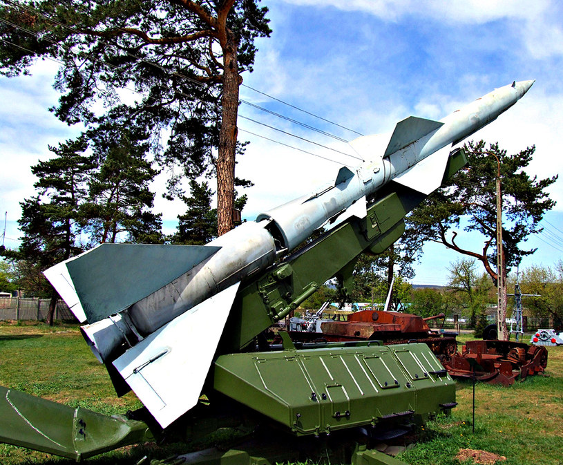 """Rakiety przeciwlotnicze """"Dźwina"""" /Odkrywca"""