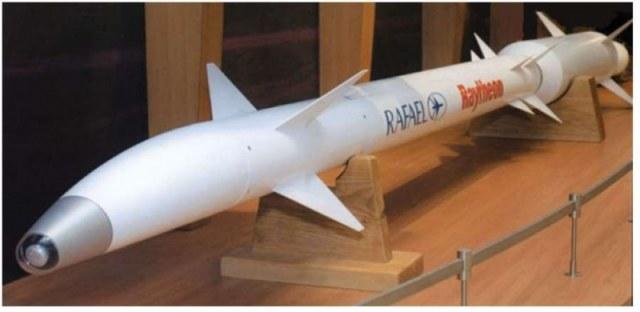 Rakiety, z których będzie korzystał system Proca Dawida. Źródło: Rafael Advanced Defense Systems Ltd. /materiały prasowe