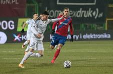 Raków Częstochowa - Pogoń Szczecin 0-1 w meczu 15. kolejki Ekstraklasy