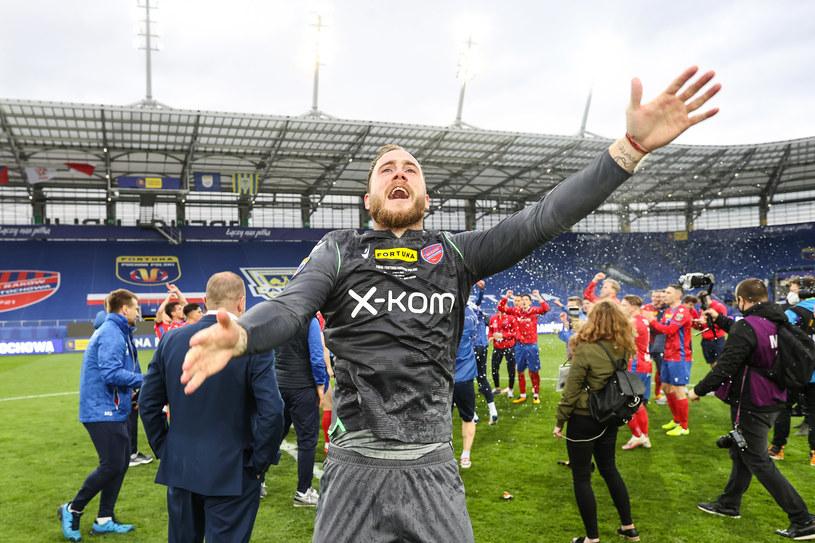 Raków Częstochowa triumfuje w Pucharze Polski /LUKASZ GROCHALA/CYFRASPORT / NEWSPIX.PL /Newspix