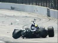 Ralf Schumacher może mówić o dużym szczęściu /AFP
