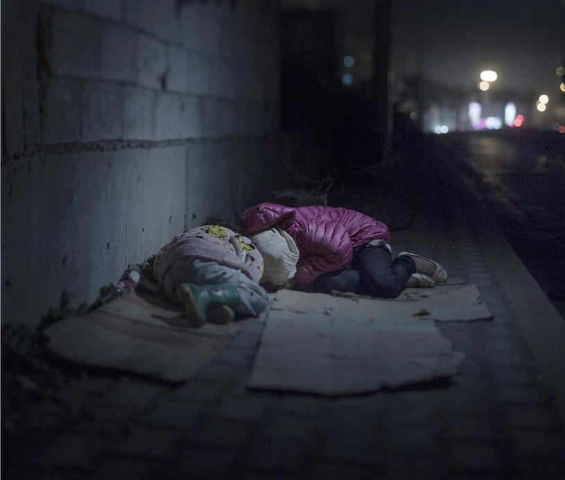 Ralia, 7 i Rahaf, 13 lat /fot. Magnus Wennman/Aftonbladet/REX Shutterstock /East News