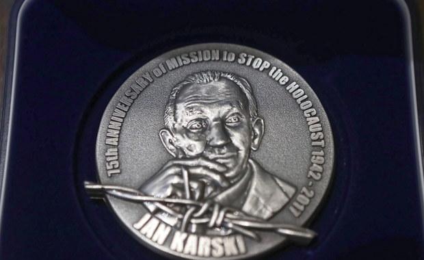 Raman Pratasiewicz uhonorowany Medalem 75-lecia Misji Jana Karskiego