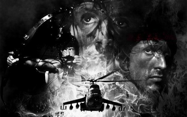 Rambo: The Video Game - motyw graficzny /Informacja prasowa