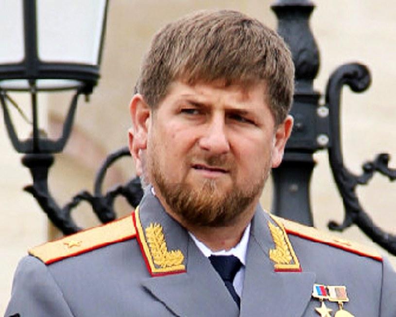 Ramzan Kadyrow, obecnie rządzący Czeczenią /AFP