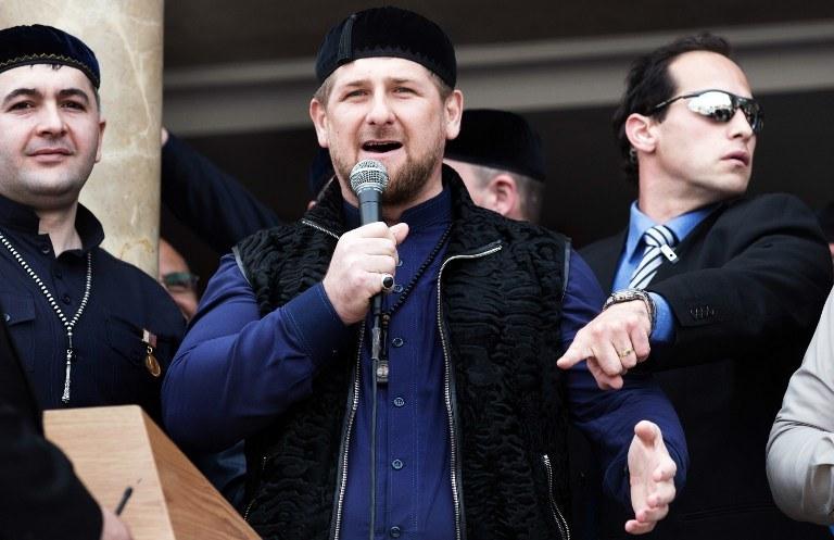 Ramzan Kadyrow /AFP