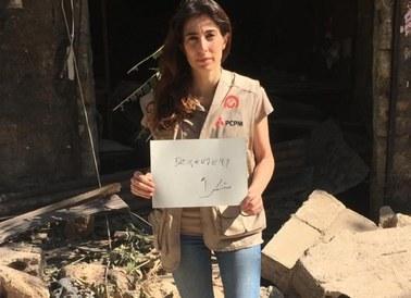 Rana Gabi dla RMF FM: Bejrut zniknął pod gruzami. Ludzie potrzebują pomocy