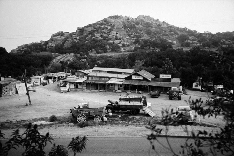 Rancho Spahn'a. To tutaj swoją siedzibę znalazł guru, Charles Manson /Getty Images
