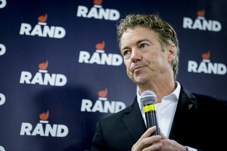 Rand Paul /Pete Marovich / GETTY IMAGES NORTH AMERICA / AFP /AFP