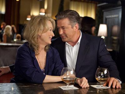 Randka z (nie)znajomym. Meryl Streep i Alec Baldwin.  /materiały prasowe