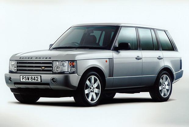 Range Rover (kliknij) /INTERIA.PL