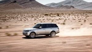 Range Rover - pierwsza jazda