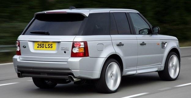 Range rover sport - ulubione auto piłkarzy w Anglii /