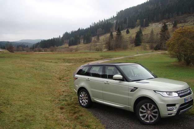 Range Roverem Sport jedziemy z powrotem do Zurychu /INTERIA.PL