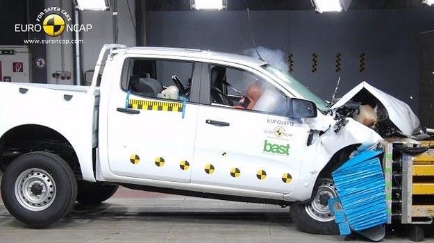 Ranger to pierwszy pikap, który zdobył w testach Euro NCAP komplet gwiazdek. /Euro NCAP