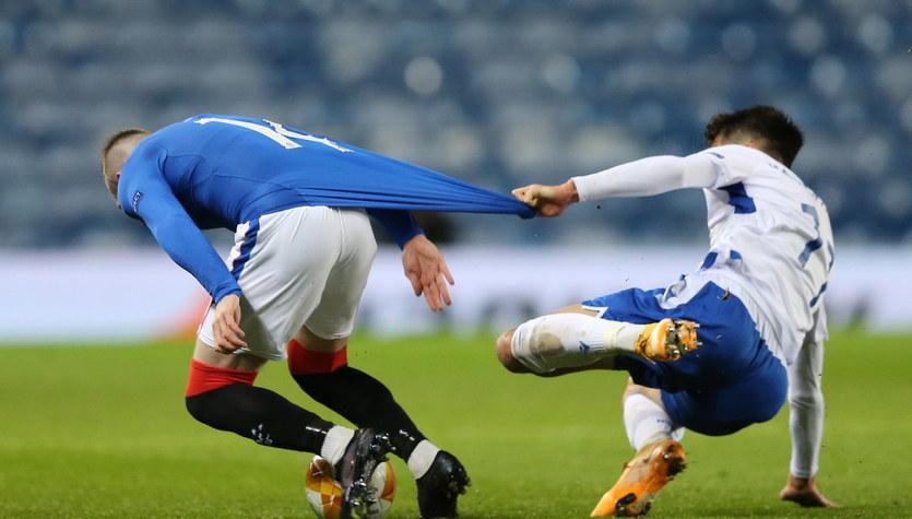 Rangers FC - Lech Poznań 1-0 w meczu 2. kolejki Ligi Europy