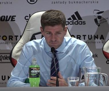 Rangers FC. Steven Gerrard po meczu z Legią (0-0). Wideo