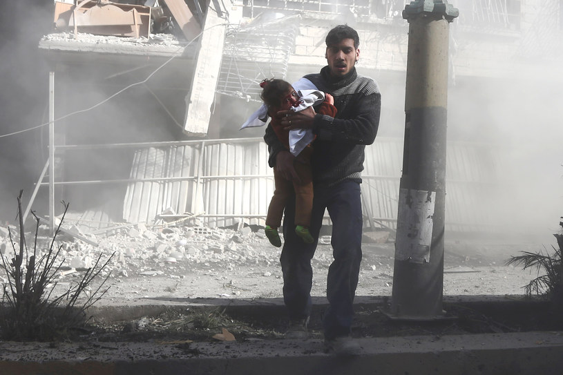 Ranni w atakach w Wschodniej Ghucie /ABDULMONAM EASSA /AFP