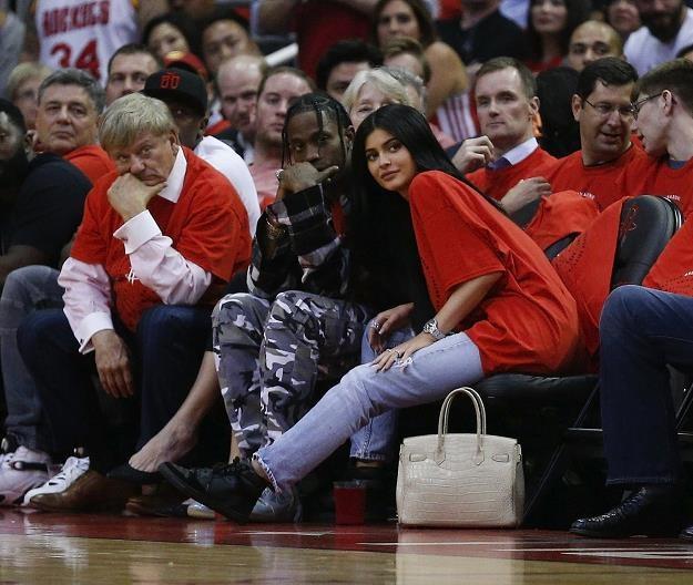 Raper Travis Scott i Kylie Jenner /AFP