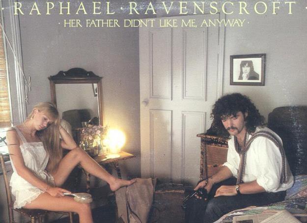 """Raphael Ravenscroft na okładce swojej solowej płyty """"Her Father Didn't Like Me, Anyway"""" /"""