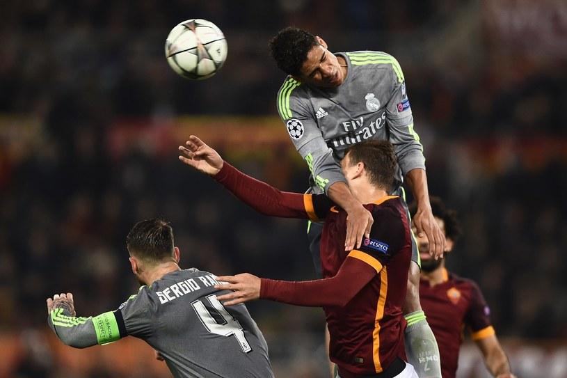 Raphael Varane (u góry) /AFP