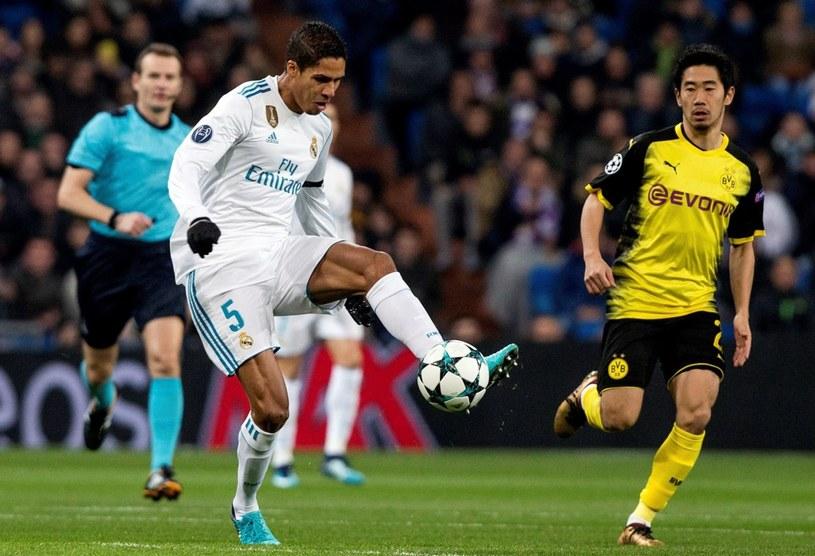 Raphael Varane w meczu z Borussią Dortmund /PAP/EPA