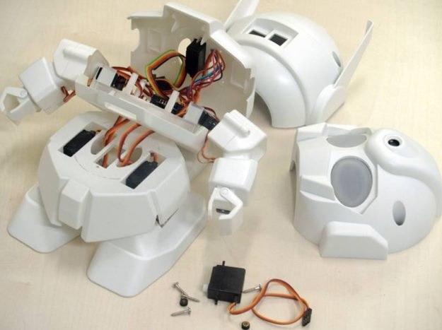 Rapiro - robocik Raspberry Pi fot. Kickstarter /materiały prasowe