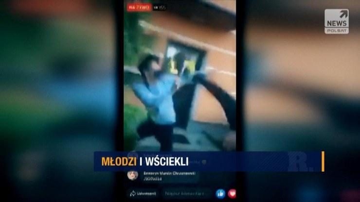 """""""Raport"""" Jacka Smaruja o godz. 21 /Polsat News"""