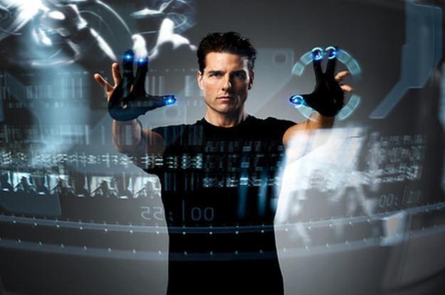 """""""Raport mniejszości"""" Stevena Spielberga z 2002 roku przewidział interfejs multidotykowy i Kinecta /materiały prasowe"""