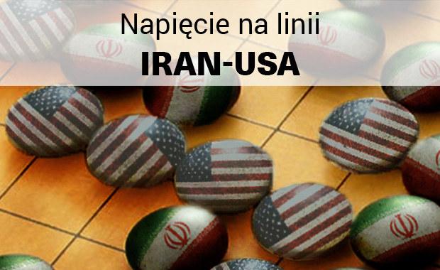 Raport: Napięcie na linii Iran-USA