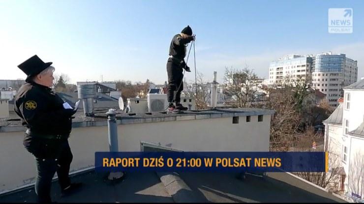 """""""Raport"""" od poniedziałku do soboty o godz. 21 w Polsat News /Polsat News"""