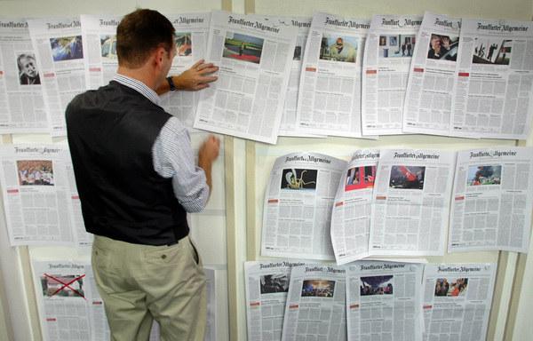 """Raport opublikowano na łamach """"Frankfurter Allgemeine Zeitung"""". /AFP"""