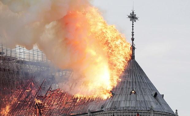Raport: Pożar katedry Notre Dame