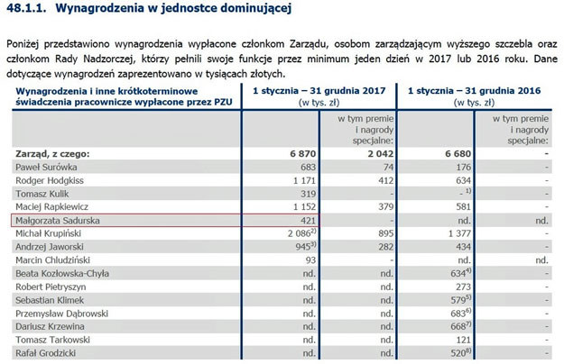 Raport roczny PZU /RMF