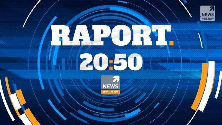 """""""Raport"""" w Polsat News codziennie od poniedziałku do piątku o godz. 20:50 /Polsat News"""