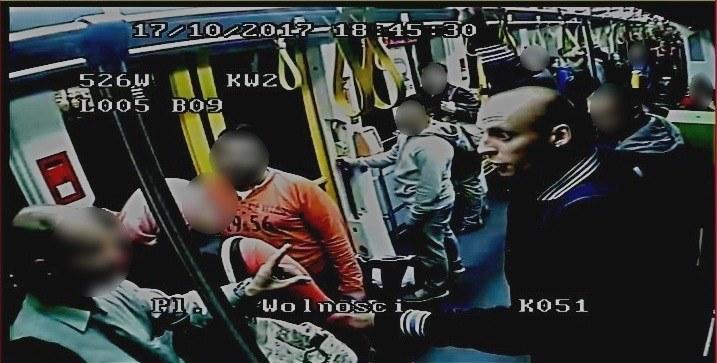 Rasistowski atak w Poznaniu /Policja