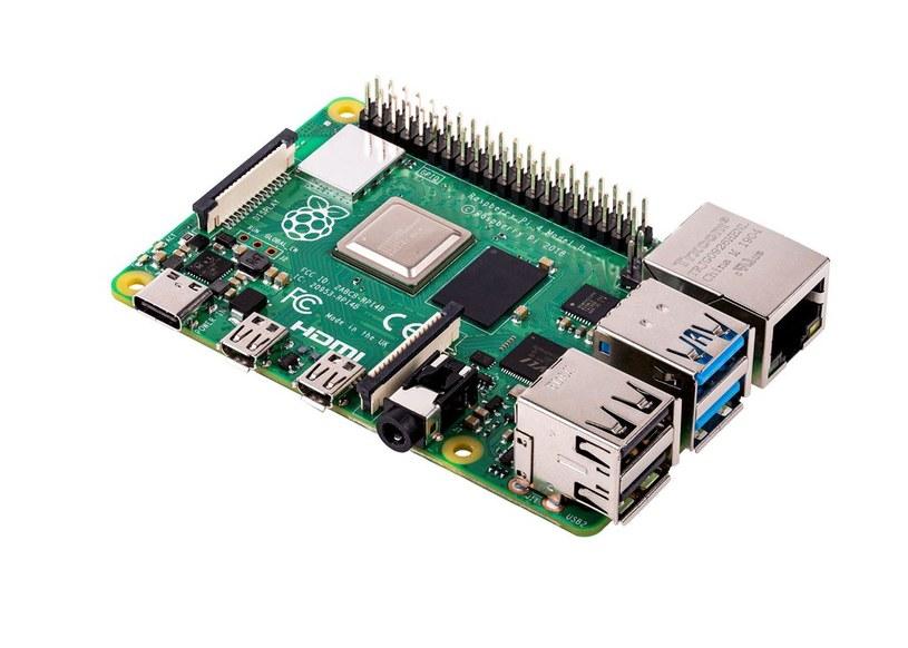 Raspberry Pi 4 /materiały prasowe